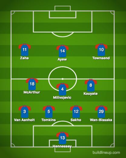 Crystal Palace-Newcastle United