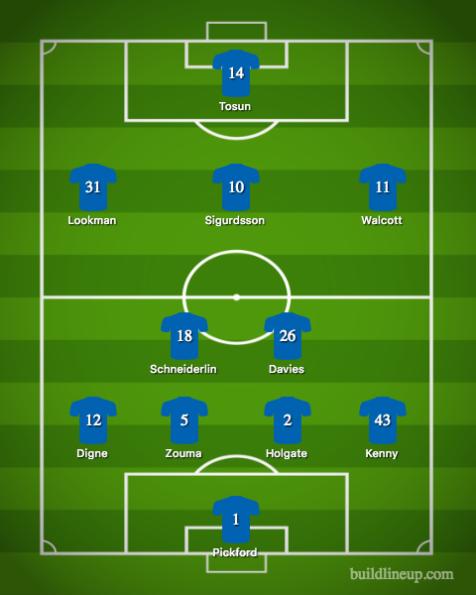 Everton-West Ham United