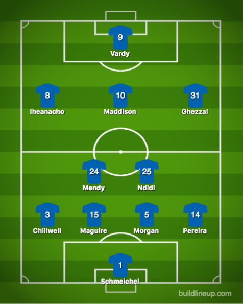 Leicester City-Newcastle United