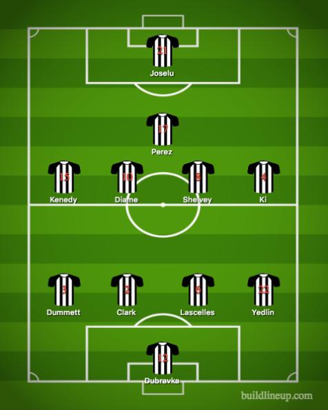 Newcastle United-Arsenal