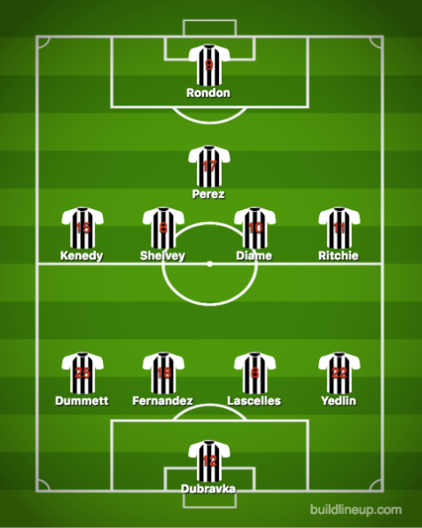 Newcastle United-Leicester City