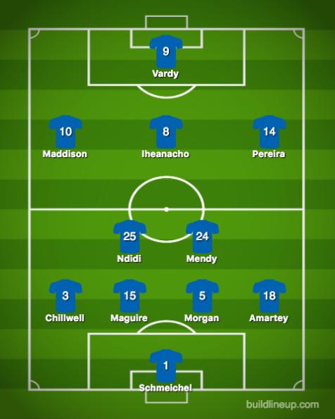 Leicester City-Everton