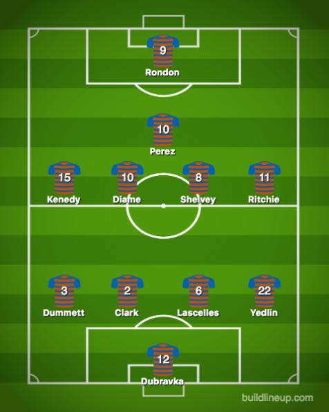 Newcastle United-Southampton