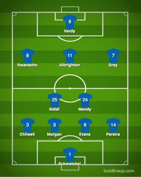 Leicester City-Burnley