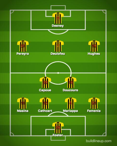 Watford-Newcastle United