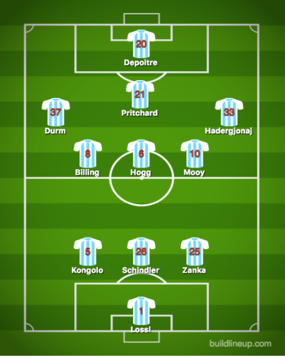 Huddersfield Town-Bournemouth