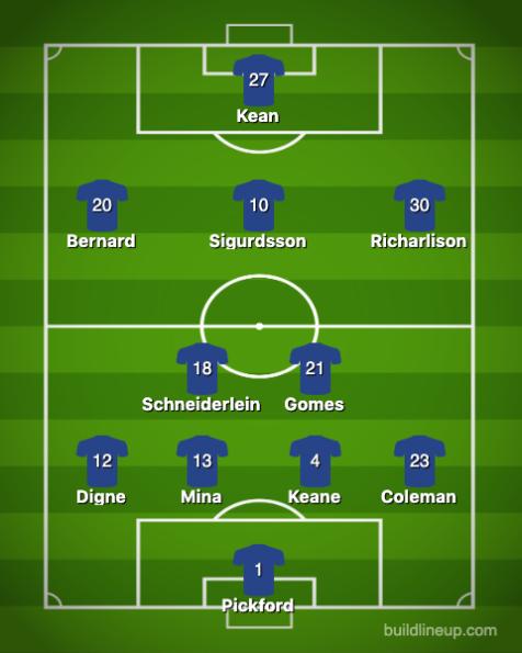 Everton-Crystal Palace 1