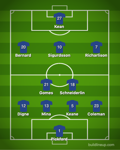 Everton-Wolverhampton 1