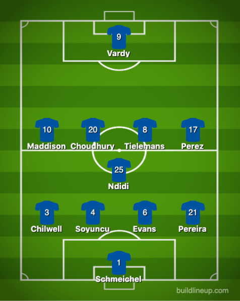 Leicester City-Chelsea 1