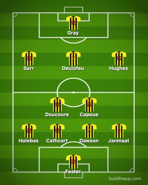 Watford-Newcastle United 1