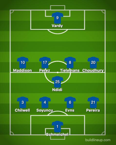 Leicester City-Tottenham Hotspur 1